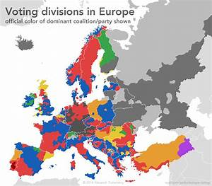 Voting patterns in Europe