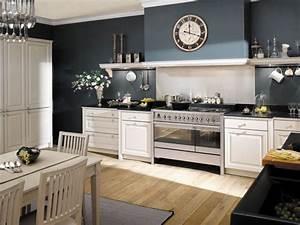 idee deco cuisine blanche et bleu With cuisine blanche et bleu