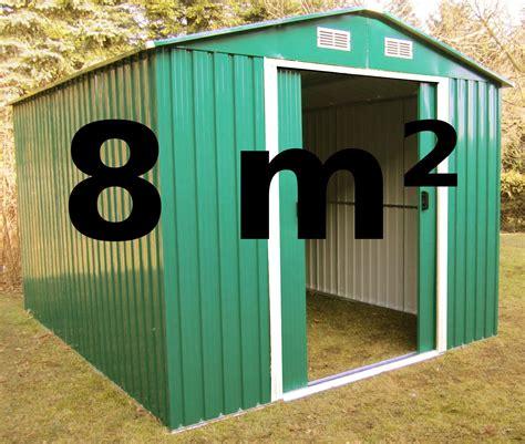 Gartenhaus 3x3 Meter by Gartenhaus Ger 228 Teschuppen 8m 178 Aus Verzinktem Stahlblech