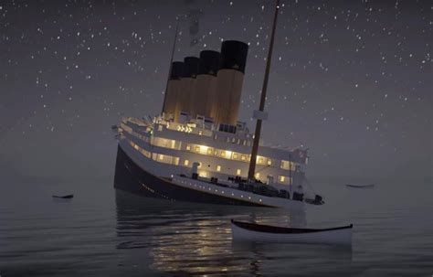 A Boat Sinking by Watching The Titanic Sinks In Real Time Ufunk Net