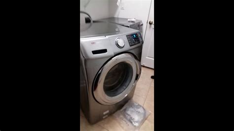 samsung front load washer walking youtube