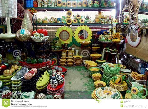 house and home decor flea market stores in dapitan arcade in manila