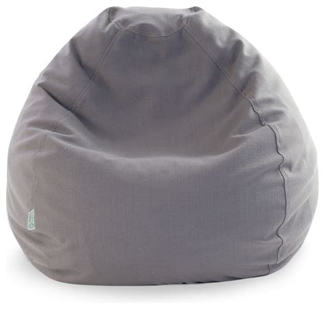 indoor gray wales small bean bag contemporary bean bag