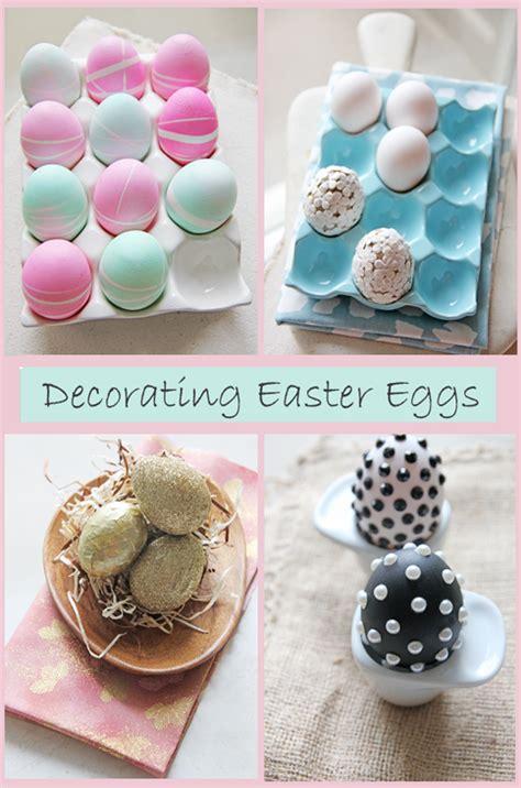 Oster Eierbecher Basteln by Diy Easter Egg Decor Chocolate Shavings