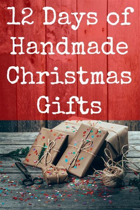 days  handmade christmas gifts  christmas