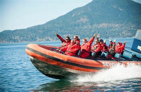 Vancouver Boat Tours by Fjord Zodiac Tour Landsea Tours Adventures