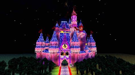 Magic Kingdom Light Show by A Magical Minecraft Christmas Youtube