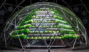Geodesic Solar Domes For Aeroponics  Aquaponic  U0026 Hydroponic System