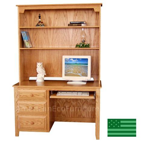 solid oak computer desk with hutch solid oak desk with hutch hostgarcia