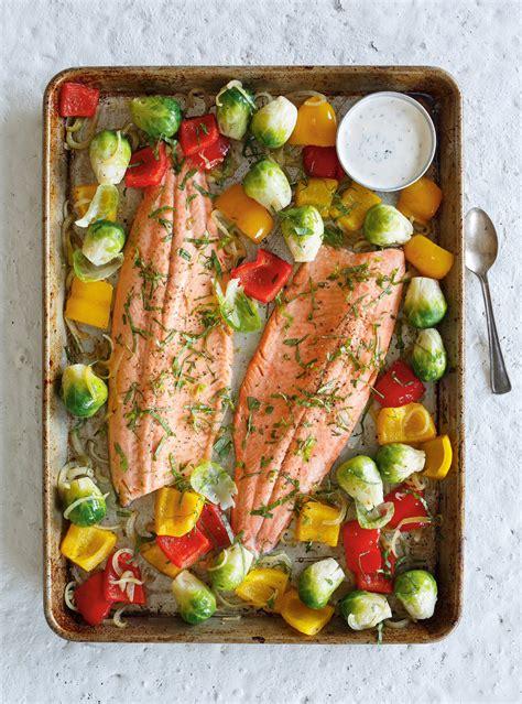 livre de cuisine ricardo baked trout with roasted vegetables ricardo