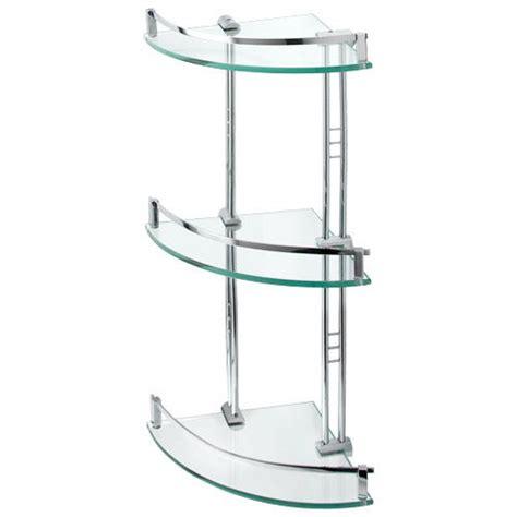 glass corner shower shelf engel tempered glass corner shelf three shelves bathroom