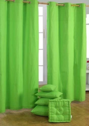 plain green readymade curtain pair modern curtains