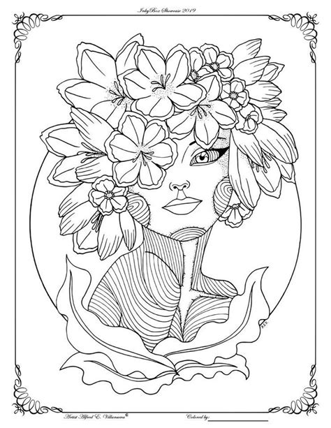 Pin by lailinda on fantasy women coloring pages Fairy