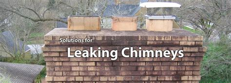 Chimney Damage From Water Or Frost