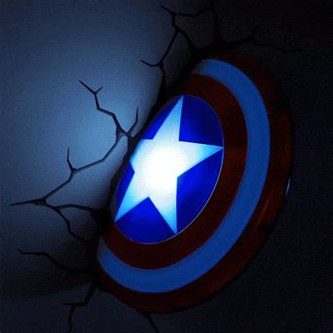 marvel captain america shield led wall light i buy drunk