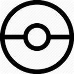 Pokemon Icon Pokeball Ball Poke Getdrawings
