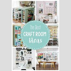 15 Fun & Amazing Craft Room Ideas  Crazy Little Projects