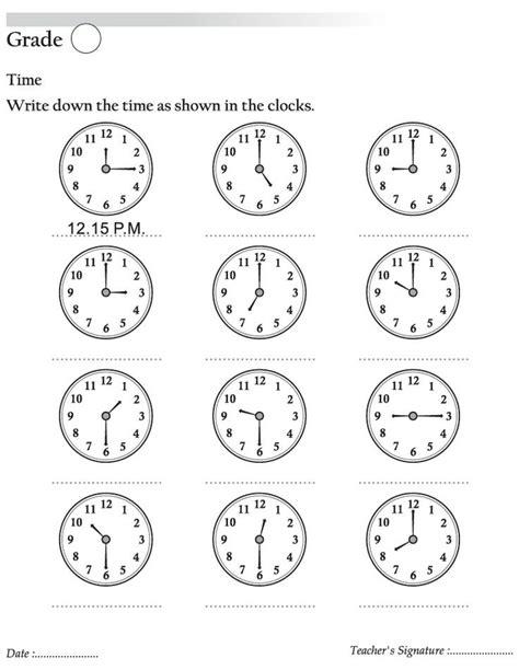numeral clock worksheets best 25 clock worksheets ideas on telling