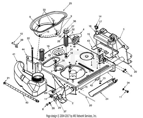 mtd    yard bug  parts diagram  frame