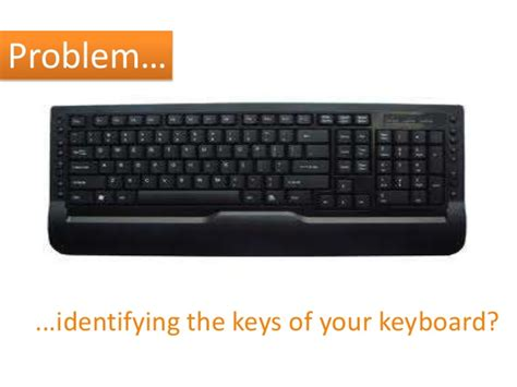 High Visibility Keyboarding Solution
