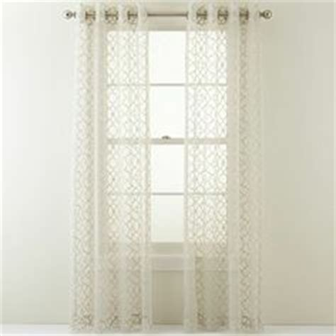 jcpenney curtains for doors linden odette grommet top drapery panel jcpenney