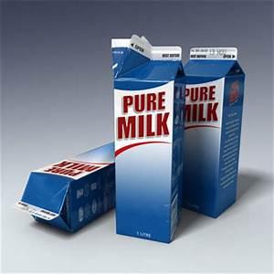 Open Milk Carton