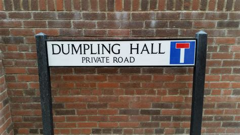 Polycarbonate Street Sign - Post Mounted (Traditional ...