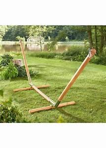 Support Hamac Castorama : hamac armature bois l 39 univers du jardin ~ Voncanada.com Idées de Décoration