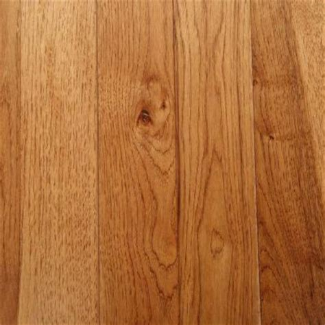hickory solid hardwood flooring bruce hickory autumn wheat solid hardwood flooring 5 in x 7 in take home sle br 595891