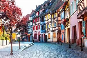 Schöne Städte In Frankreich : sch ne st dte von frankreich colmar mit buntem fachwerk stockbild bild von stadt ~ Buech-reservation.com Haus und Dekorationen