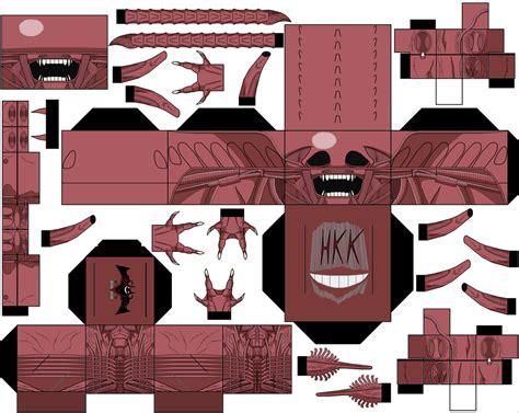 Alien Papercraft Paper Toy