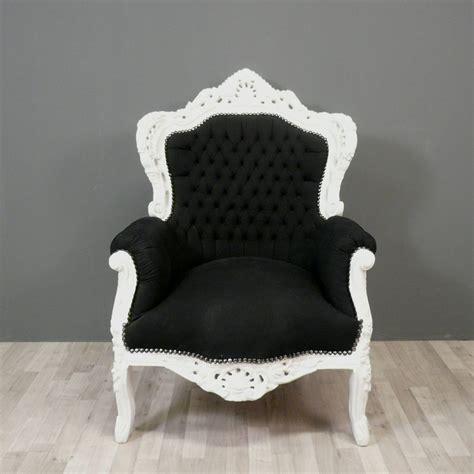 chaises baroques chaise baroque noir et blanc