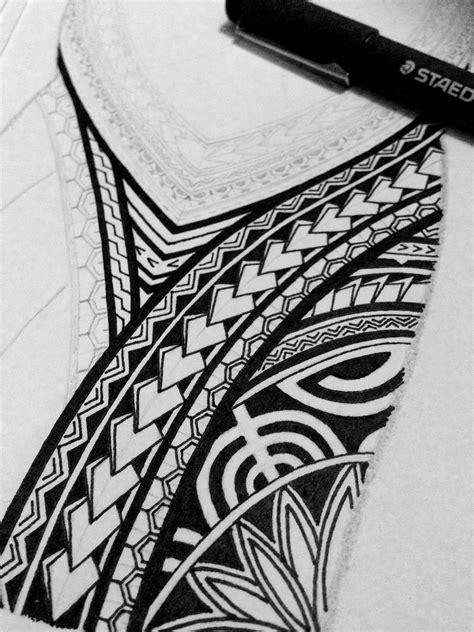 polynesian  sleeve tattoo design  behance
