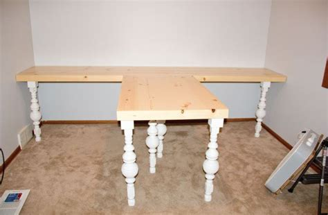 t shaped desk for two home office diy t shaped desk home office pinterest
