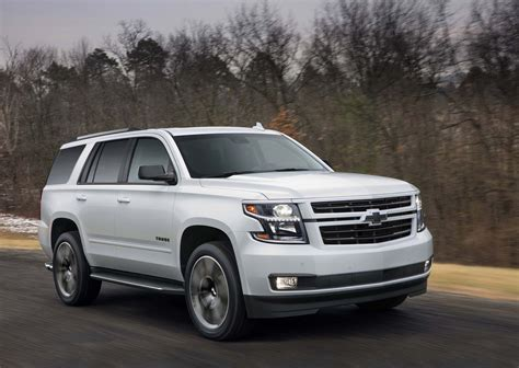 2018 chevrolet tahoe and suburban rst look motor
