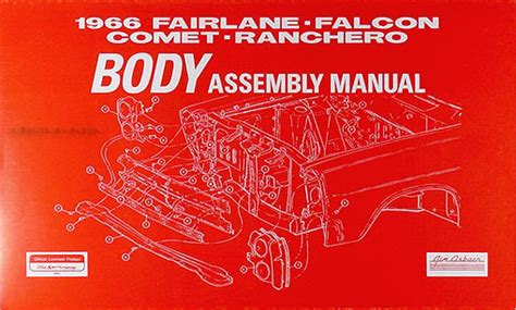 Electrical Assembly Manual Fairlane Falcon Ranchero