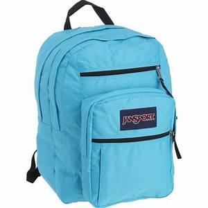 JanSport - JanSport Big Student Backpack - Mammoth Blue ...  Jansport