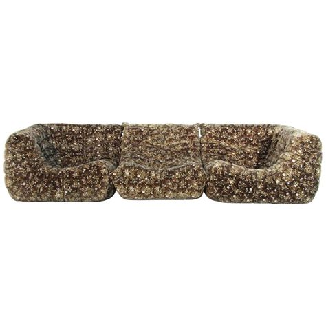 sofá togo original original velvet togo sofa set by michel ducaroy for ligne