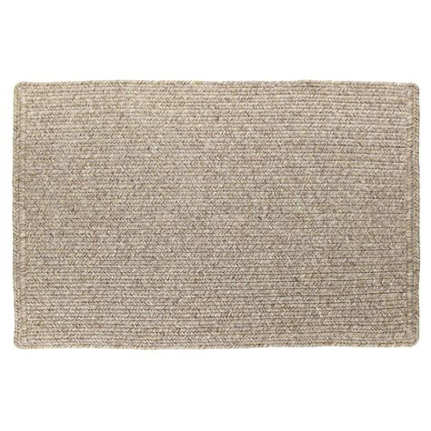 solid color kitchen rugs solid color slim braided indoor outdoor area rug 20 quot x30 5597