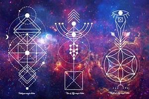 Sacred Geometry Magic totem by A Slowik TheHungryJPEG com