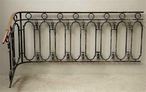 courante fer forge escalier re d escalier en fer forg 233 avec courante en laiton escaliers et res