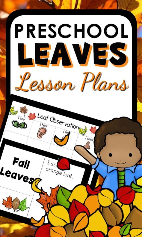 fall leaf theme preschool classroom lesson plans 322 | Leaves Pin