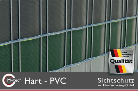 Hart Pvc Streifen by Hart Pvc Sichtschutzstreifen Zum Einflechten