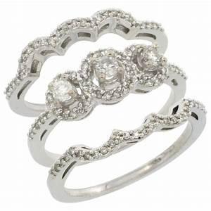 attractive inspiration ideas three piece wedding rings With three piece wedding ring sets