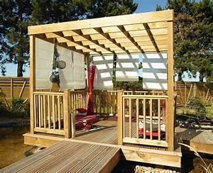 Garde Corps à Faire Soi Même : pergola en bois esterel tarif et prix b a bois ~ Premium-room.com Idées de Décoration