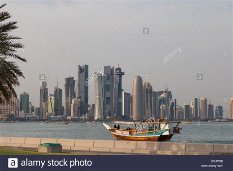 Buy A Boat Doha by Doha West Bay Viewed From Al Corniche Dhow Boat With