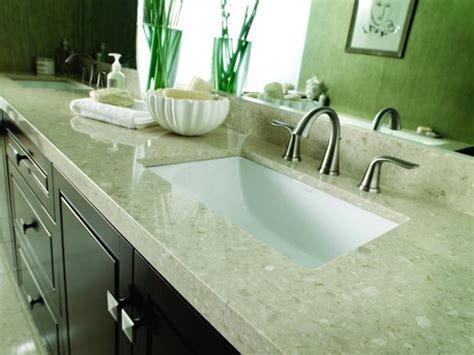 Best Kitchen Sink Material 2017 by Choosing Bathroom Countertops Hgtv