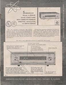 Sherwood Sr2 Service Manual