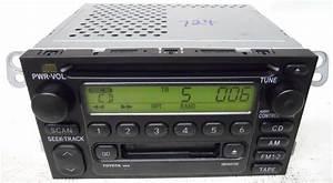 Toyota Sequoia 2001 2002 Factory Stereo Tape Cd Player Radio 861200c020 16814
