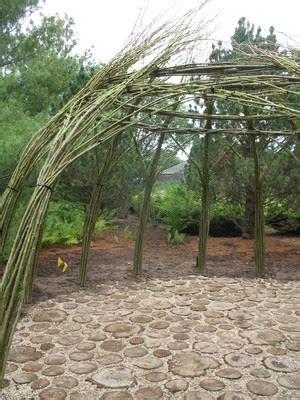 living willow outdoor structure home design garden